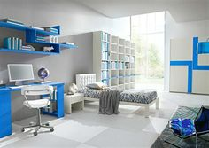 Image from http://myzestyliving.com/wp-content/uploads/2014/02/sensational-white-blue-interior-cool-room-designs-for-guys.jpg.