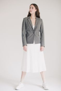 Create Checked Jacket - Driftwood by DAY Driftwood, 2 In, Coats, Jackets, Down Jackets, Wraps, Coat, Jacket, Drift Wood