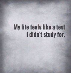 Very much So; more serious like a final exam though