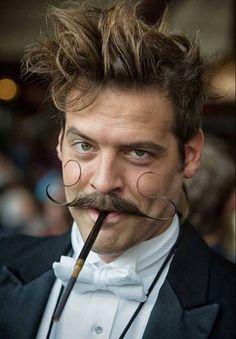 steampunk-style moustachio extremo....