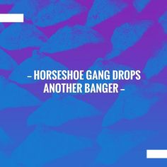 Just posted! Horseshoe Gang drops another banger http://muzikfanatic.com/2017/09/horseshoe-gang-drops-another-banger/?utm_campaign=crowdfire&utm_content=crowdfire&utm_medium=social&utm_source=pinterest