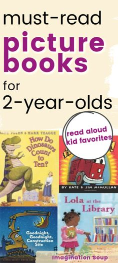 20 Best Books to Read to 2-Year-Olds | Imagination Soup