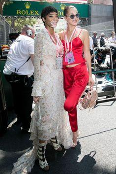 Winnie Harlow and Bella Hadid - HarpersBAZAAR.com