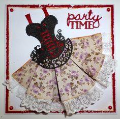 Tattered Lace Corset dress