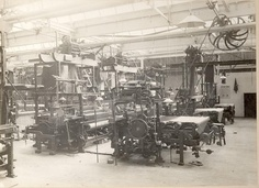 Gainsborough - How the factory was in 1924 when it moved to Alexandra Road, Sudbury, Suffolk - www.bartbrugman.com