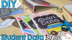 Student Data Binder-