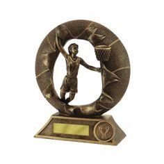 B/ball Female Break-Thru Basketball Basketball Trophies, Basketball Awards, Basketball Players, Resin Material, Slam Dunk, Female