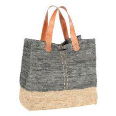 Cabas Raphia - Massoa Burlap, Creations, Reusable Tote Bags, Michael Kors, Boutique, Couture, Fashion, Handmade Handbags, Hands