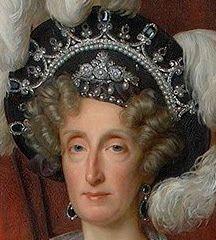 Tiara Mania: Queen Marie Amelie of France's Sapphire, Pearl, & Diamond Tiara