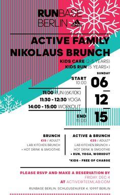 Active Family Nikolaus Brunch in der RUNBASE Berlin | Sports Insider Magazin