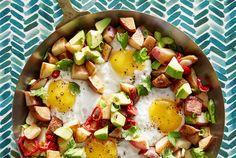 Get the recipe for Potato, Egg, and Avocado Hash.