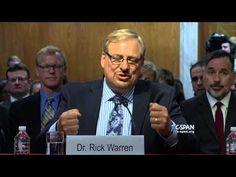"""The Church Invented the Hospital"": Rick Warren's Inspiring Senate Testimony   ChurchPOP"