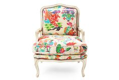 "Pin this chair as part of our ""Design your Dream Room"" Challenge! For more information visit https://www.onekingslane.com/brands/designisneverdonecontest/ #onekingslane #designisneverdone"