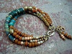 Gypsy Bracelet / Bohemian Bracelet / Boho Jewelry / by Syrena56, $48.00 by lihoffmann