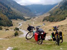 CICLOVIAGEM ROMA A LISBOA - Parte 5  - Andorra  a S Jean P Port