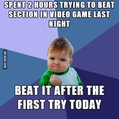 Love that feeling!