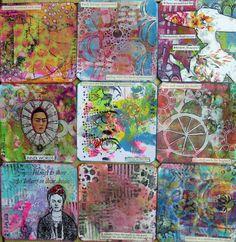 Frieda Oxenham: Art Cards 179 - 187