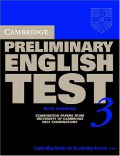 Cambridge Preliminary English Test 3 with answers | sachhaynhat - sachhay