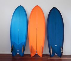 Resin tint retro surfboards