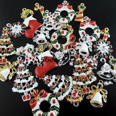 38922 винтажном стиле смешанных один серии эмаль дерево носок пончики подарок белл подвескакупить в магазине Julie's NO.1 StoreнаAliExpress