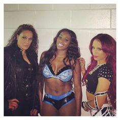 Sasha Banks, Naomi and Tamina will be known as 'Team B. Naomi Wwe, Wwe Nxt Divas, Tamina Snuka, Wwe Sasha Banks, Wwe Girls, Wwe Wallpapers, Wwe Womens, Women's Wrestling