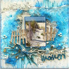 Scrap Around the World DT Reveal. January 2014 Created by Di Garling