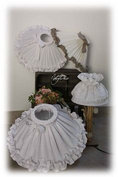 Style Shabby Chic, Shabby Chic Lamps, Shaby Chic, I Love Lamp, Shabby Vintage, Lamp Shades, First Home, Lamp Light, Kids Room