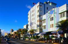 Along Ocean Drive, South Beach