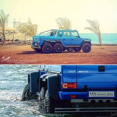 Meet The Mercedes-Benz G63 AMG 6×6 Named 'The Sea Monster'
