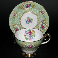 Queen Anne Gainsborough Teacup and Saucer