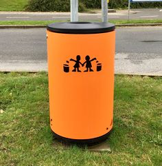 Denmark Billund Orange Trash Bins, Denmark, Canning, Orange, Home, Ad Home, Homes, Home Canning, Haus