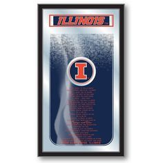 Illinois Fighting Illini Fight Song Mirror at SportsFansPlus.com. Visit website for Bonus Coupon!