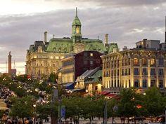 Old Montreal (Montréal Summer 2005 & Christmas 2010)