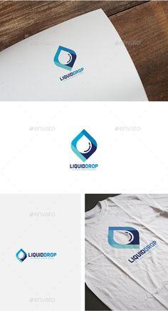 Liquid Drop Logo