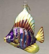 Fish tree decorations