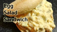 Sandwich Recipes : Quick and Easy Egg Salad Sandwich Recipe