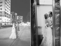 Happy Couple at the Colcord Hotel. Congratulations!  Colcord Hotel wedding | Oklahoma City wedding venue