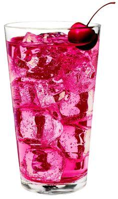Cherry Bomb ----------- 1 ½ oz. Three-O Cherry Vodka Ginger ale Splash of grenadine