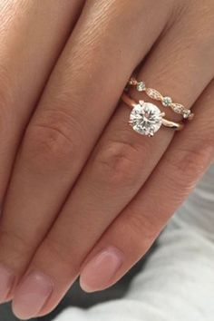 Simple engagement rings 36