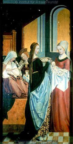 """Madame de Pompadour (""""Birth of Mary"""" 1503, Austria)"""