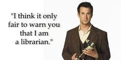 Flynn Carson is the fictional librarian of the Librarian trilogy and the new TV series The Librarians, which airs on TNT. The Librarian in this setting is kind of like Batman. It's a role that is f…