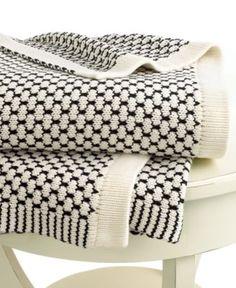 Lauren Ralph Lauren Blanket, Birdseye Knit Throw