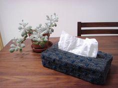 水玉模様のテッシュボックスカバーの作り方|編み物|編み物・手芸・ソーイング|ハンドメイド | アトリエ