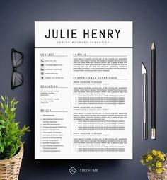 A clean resume design