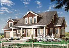 Plan de maison no. W2697 de dessinsdrummond.com