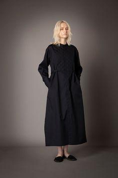 2021-22 A/W 007, 140/2 Broadcloth Quilted Dress FRC-D01-002F High Neck Dress, Dresses, Fashion, Gowns, Turtleneck Dress, Vestidos, Moda, Fashion Styles, Dress