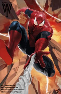 #Spiderman #Fan #Art. (Spider-Man) By: Wizyakuza aka Ceasar Ian Muyuela. (THE * 5 * STÅR * ÅWARD * OF: * AW YEAH, IT'S MAJOR ÅWESOMENESS!!!™) ÅÅÅ+