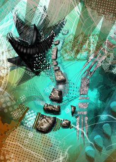 Atlantis Rising New Media by Cherie Roe Dirksen | Saatchi Art New Africa, Abstract Styles, New Media, Atlantis, New Art, Saatchi Art, Artwork, Work Of Art