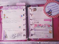 #filofax #weekplanner #filofaxpocket #diary #lucywonderland