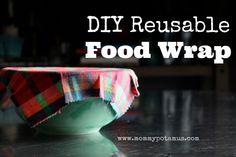 DIY Reusable Food Wrap - MommypotamusMommypotamus |